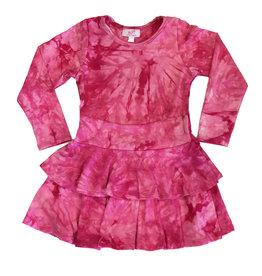 Sofi Fuschi TD 2 Tier Dress