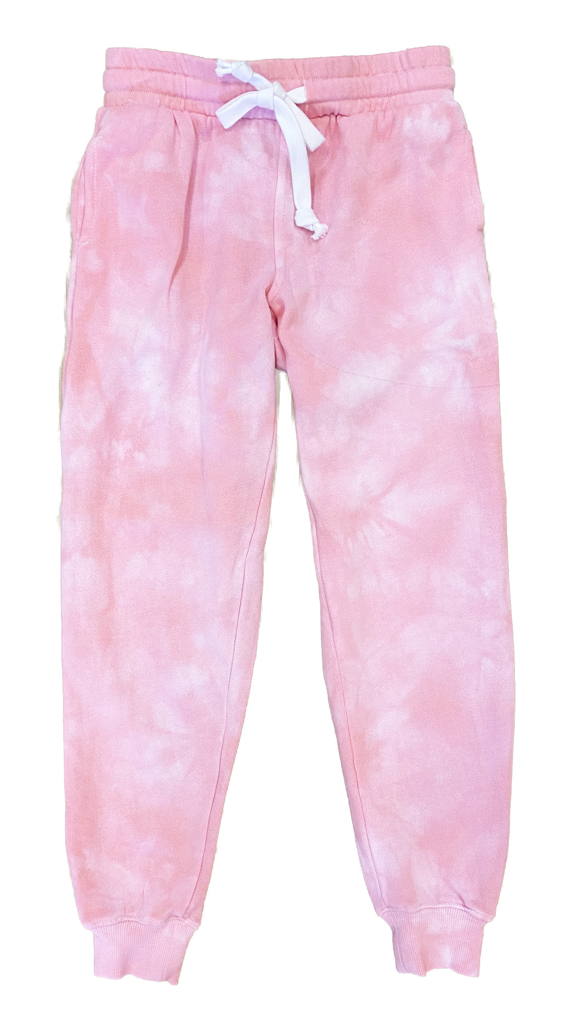 Katie J NYC Pink Cloud Tie Dye Sweatpant