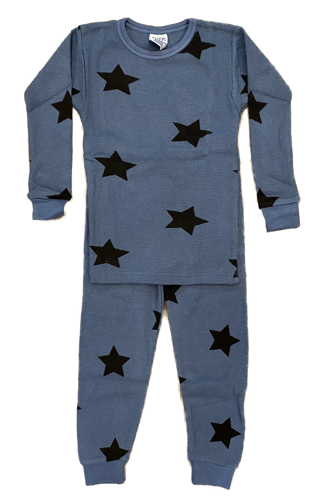 Baby Steps Denim Star Thermal Infant PJ Set