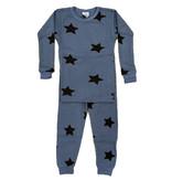 Baby Steps Denim Star Thermal PJ Set