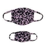 Sofi Lilac Cheetah Mask