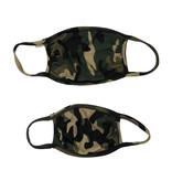 Sofi Green Camo Mask for Kids & Adults