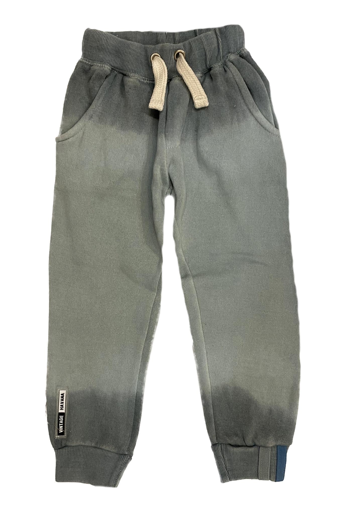 Vintage Havana Boys Grey/Green Dip Dye Sweatpant