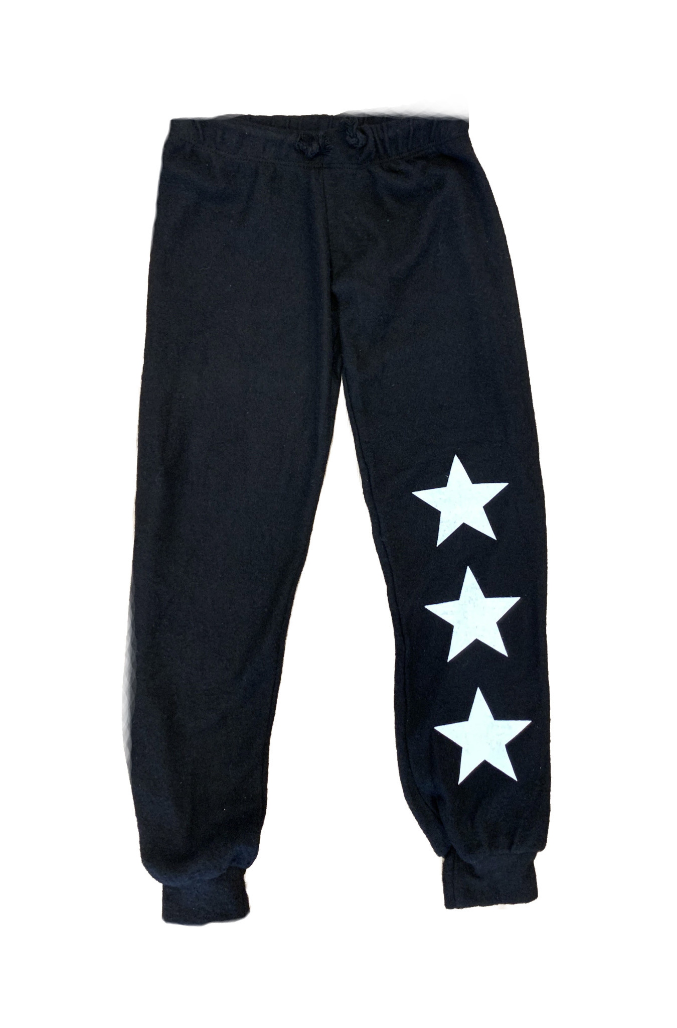 Sparkle Soft Black Star Sweatpant
