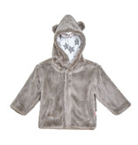 Magnetic Me Gray Minky Fleece Jacket