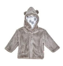 Magnetic Me Gray Minky Fleece Jacket
