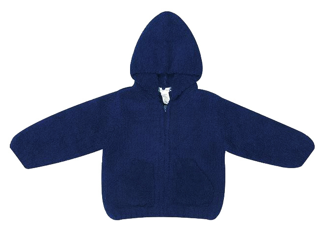 Angel Dear Navy Chenille Jacket
