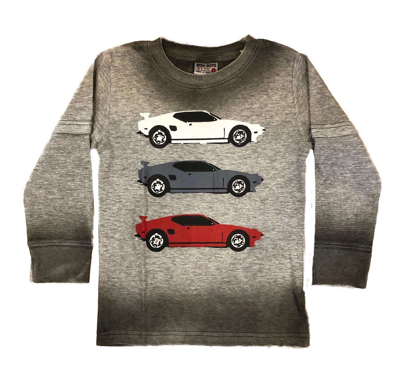 Mish Sports Car Infant Tee