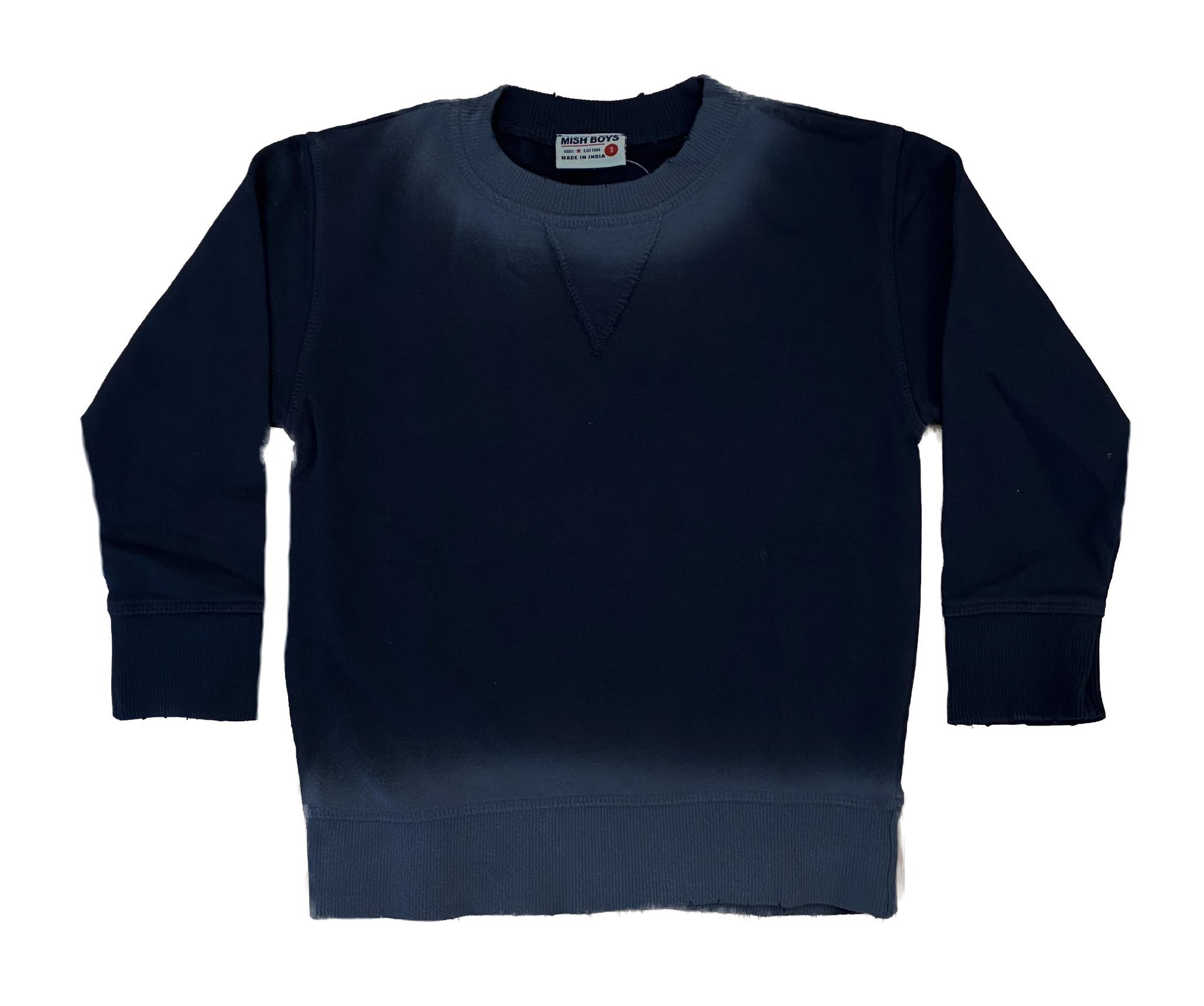 Mish Navy Ombre Sweatshirt