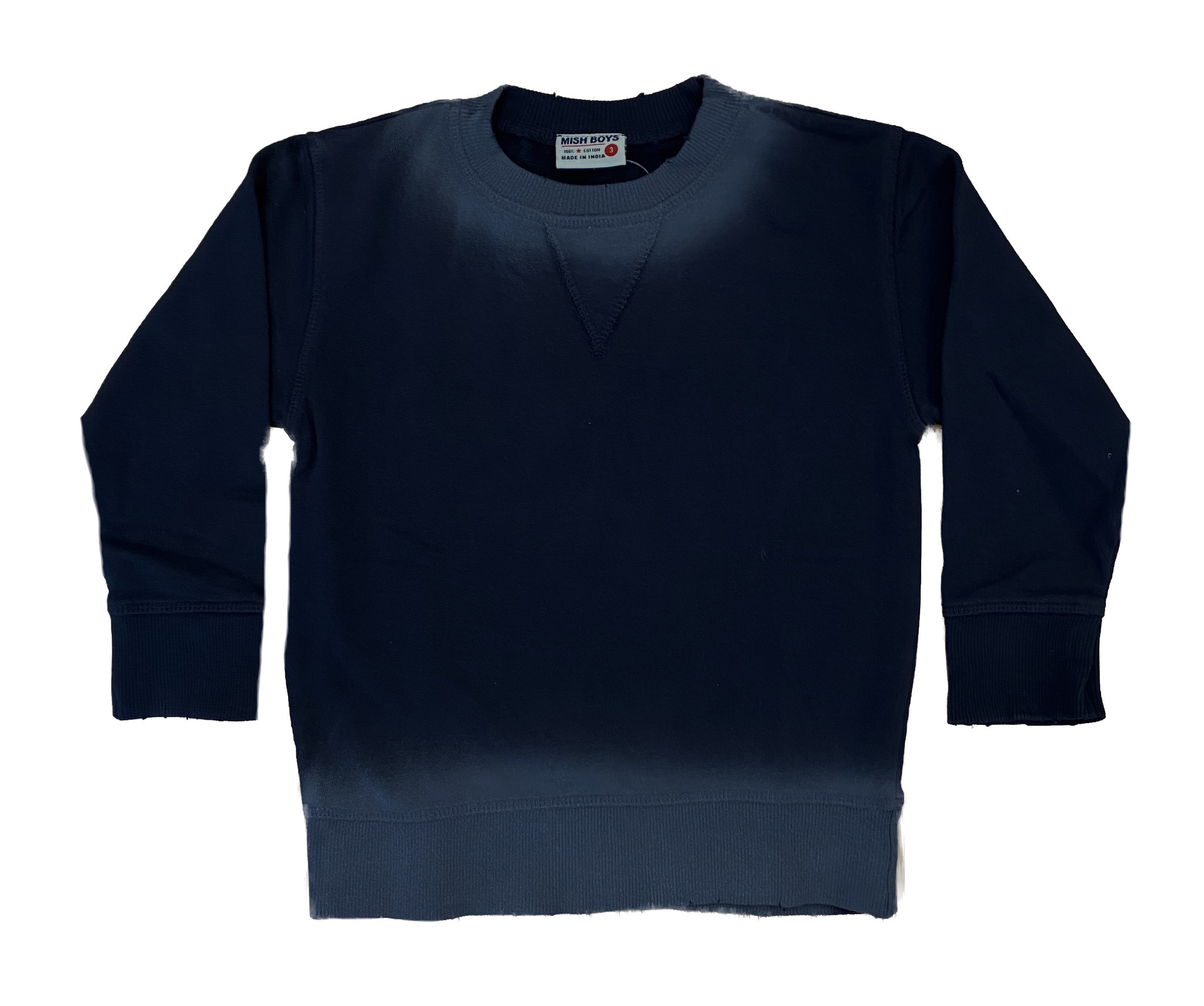 Mish Navy Ombre Infant Sweatshirt