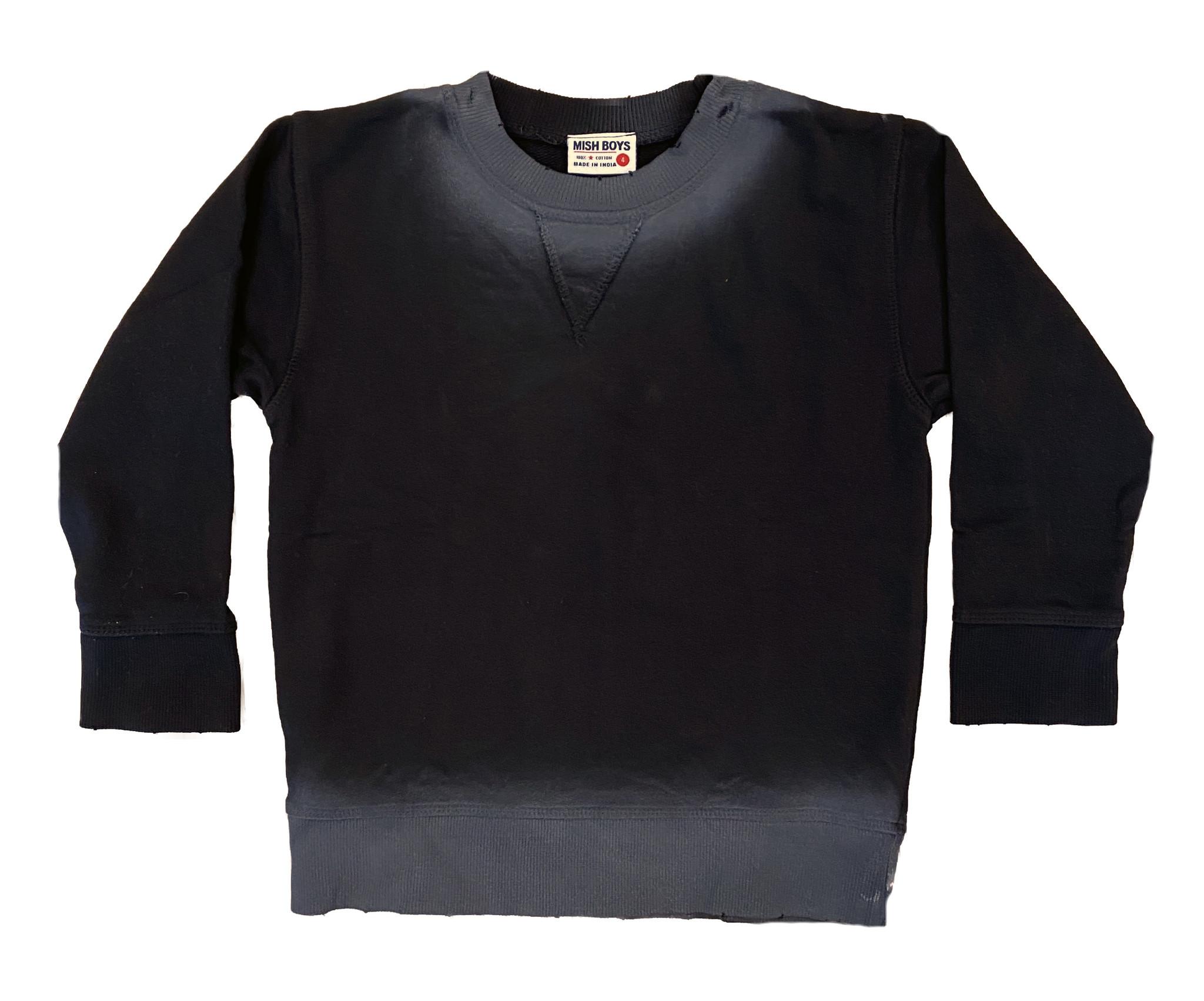 Mish Black Ombre Sweatshirt