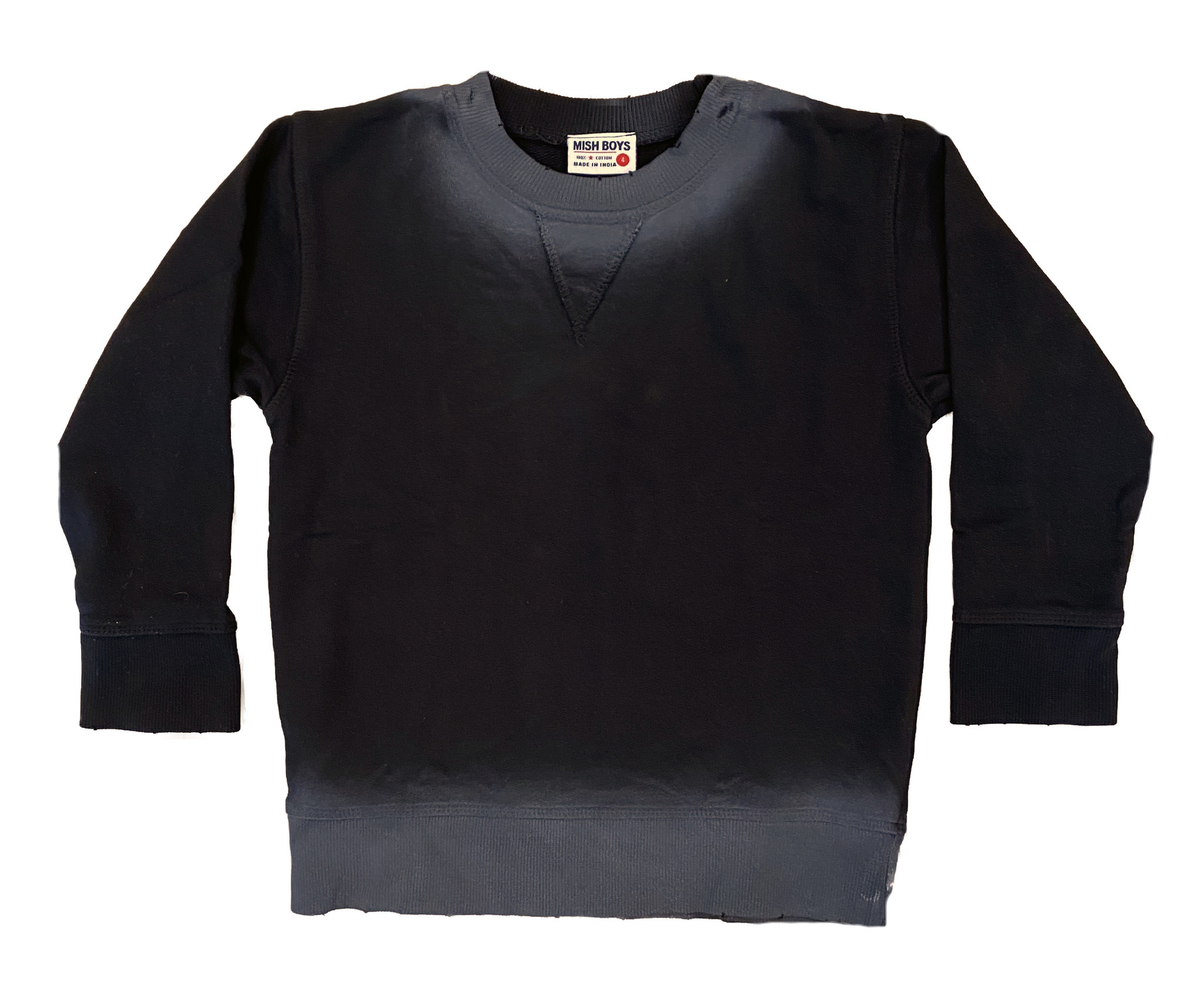Mish Black Ombre Infant Sweatshirt