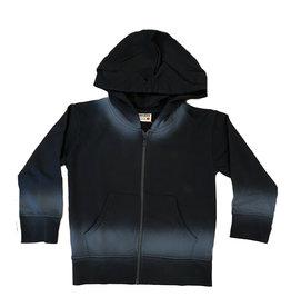 Mish Black Ombre Zip Hoodie
