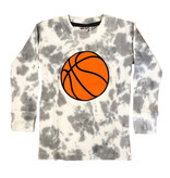 Mish Grey TD Basketball Thermal Infant Tee