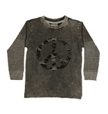 Mish Grey Camo Peace Infant Tee