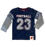 Mish Navy Football 23 Tee