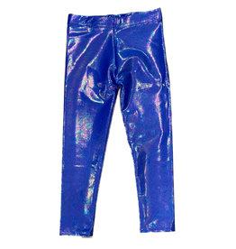 Dori Electric Blue Lame Legging