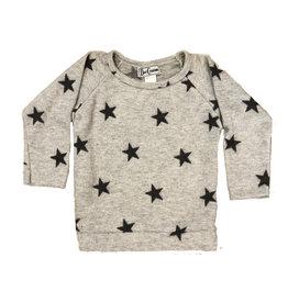 Dori Gray Soft Star Sweatshirt