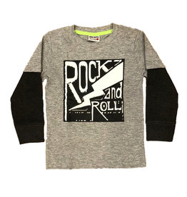 Mish Grey/Black Rock & Roll Infant Tee