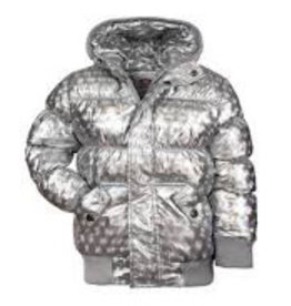 Appaman Silver Illusion Puffy Coat