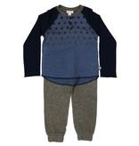 Splendid Navy/Gray Star Infant Set
