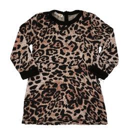 Cozii L/S Soft Leopard Infant Dress
