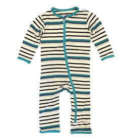 Kickee Pants Neptune Stripe Coverall