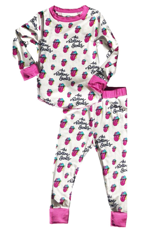 Rowdy Sprout Rolling Stones PJ Set