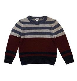 Splendid Red/Blue Stripped Sweater