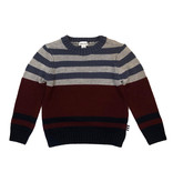Splendid Red/Blue Stripped Infant Sweater