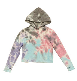 Firehouse Unicorn Cropped Fleece Hoodie