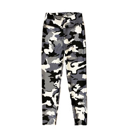 Katie J NYC Grey Camo Legging