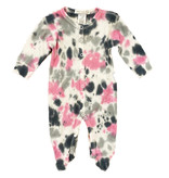 Little Mish Pink/Grey TD Thermal Footie
