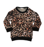 Cozii Soft Leopard  L/S Raglan Top