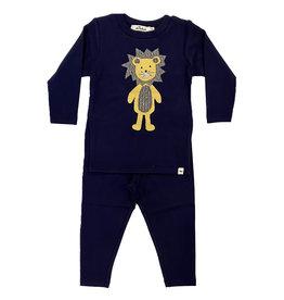 Oh Baby Navy Ragdoll Lion Set