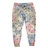 T2Love Heathered TD with Hearts Sweatpant