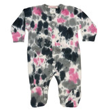Baby Steps Pink/Gray TD Footie