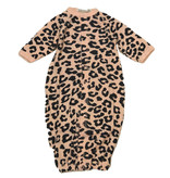 Little Mish Pink Cheetah Thermal Converter Gown