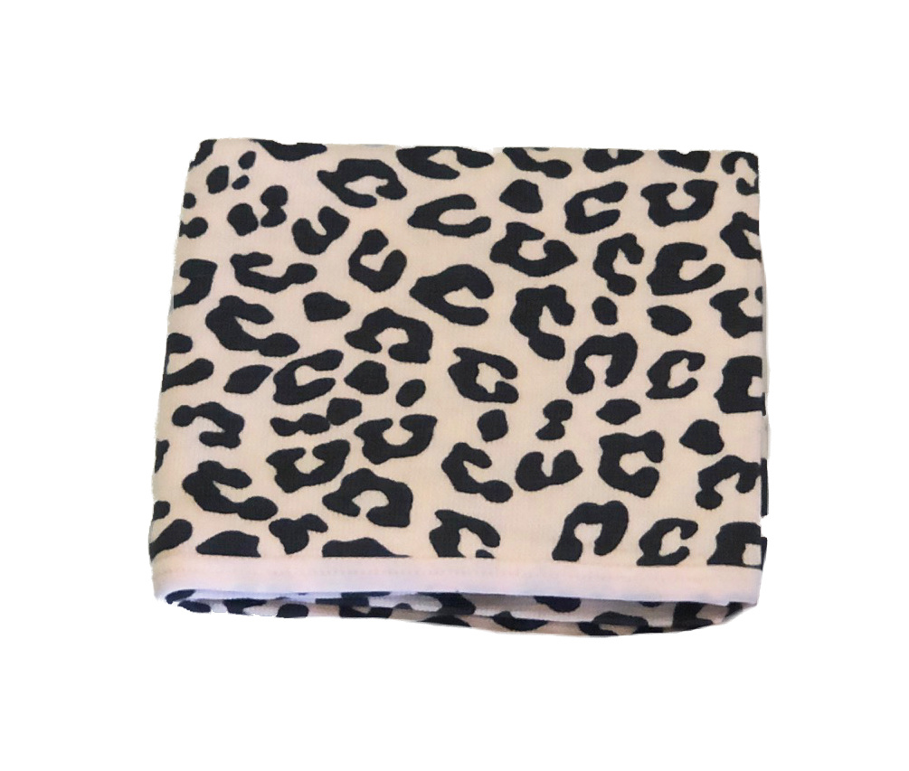 Little Mish Pink Cheetah Thermal Blanket