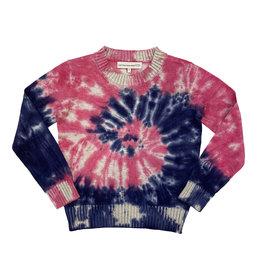 CPW Kids Pink/Blue Spiral TD Sweater