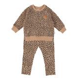 HUX Leopard Sweatshirt Legging Set