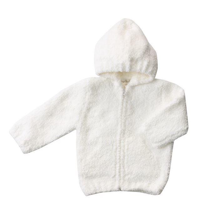 Angel Dear White Chenille Jacket
