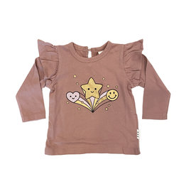 Hux Star Power Frill Top
