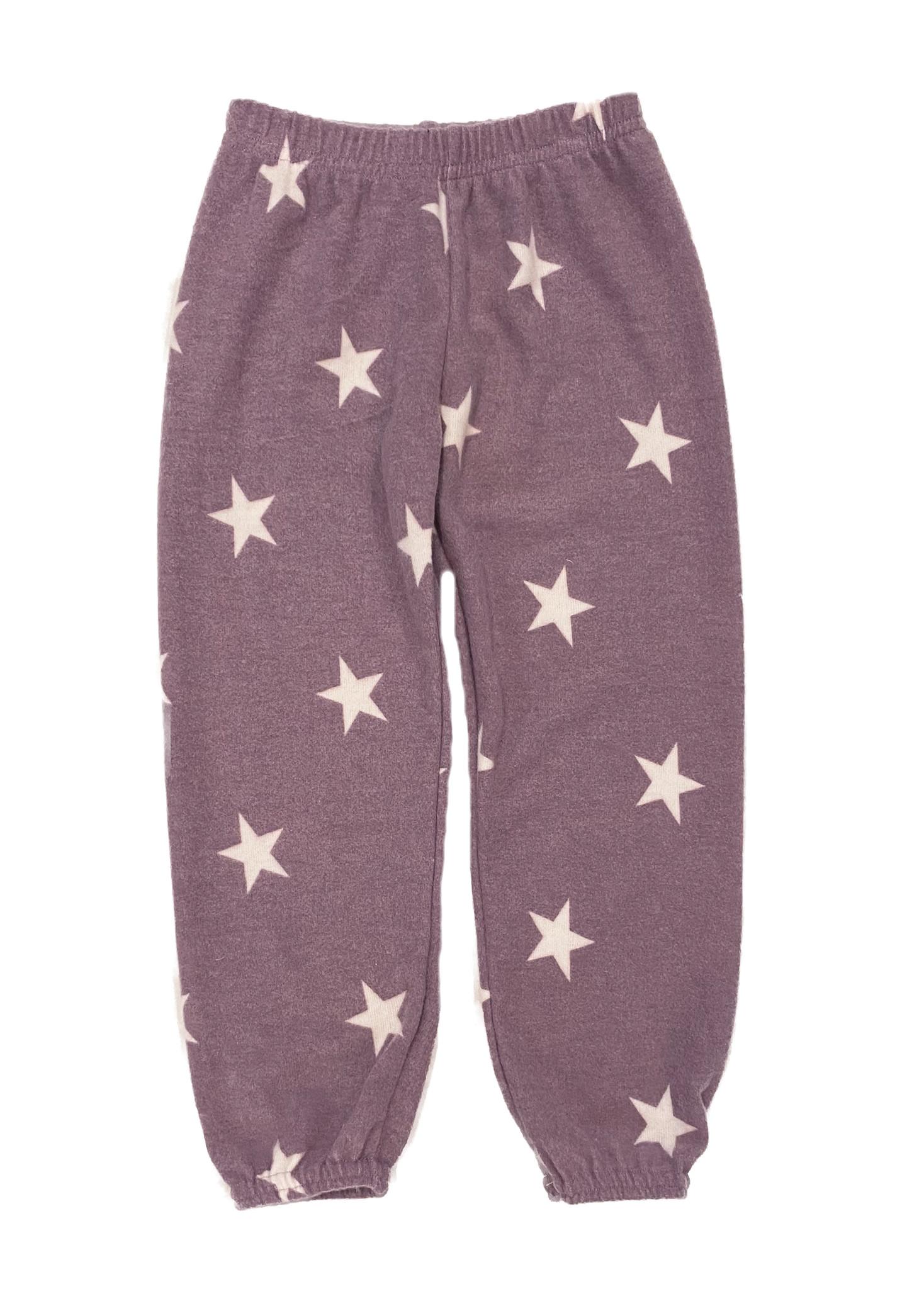 Dori Lavender Soft Star Sweatpant