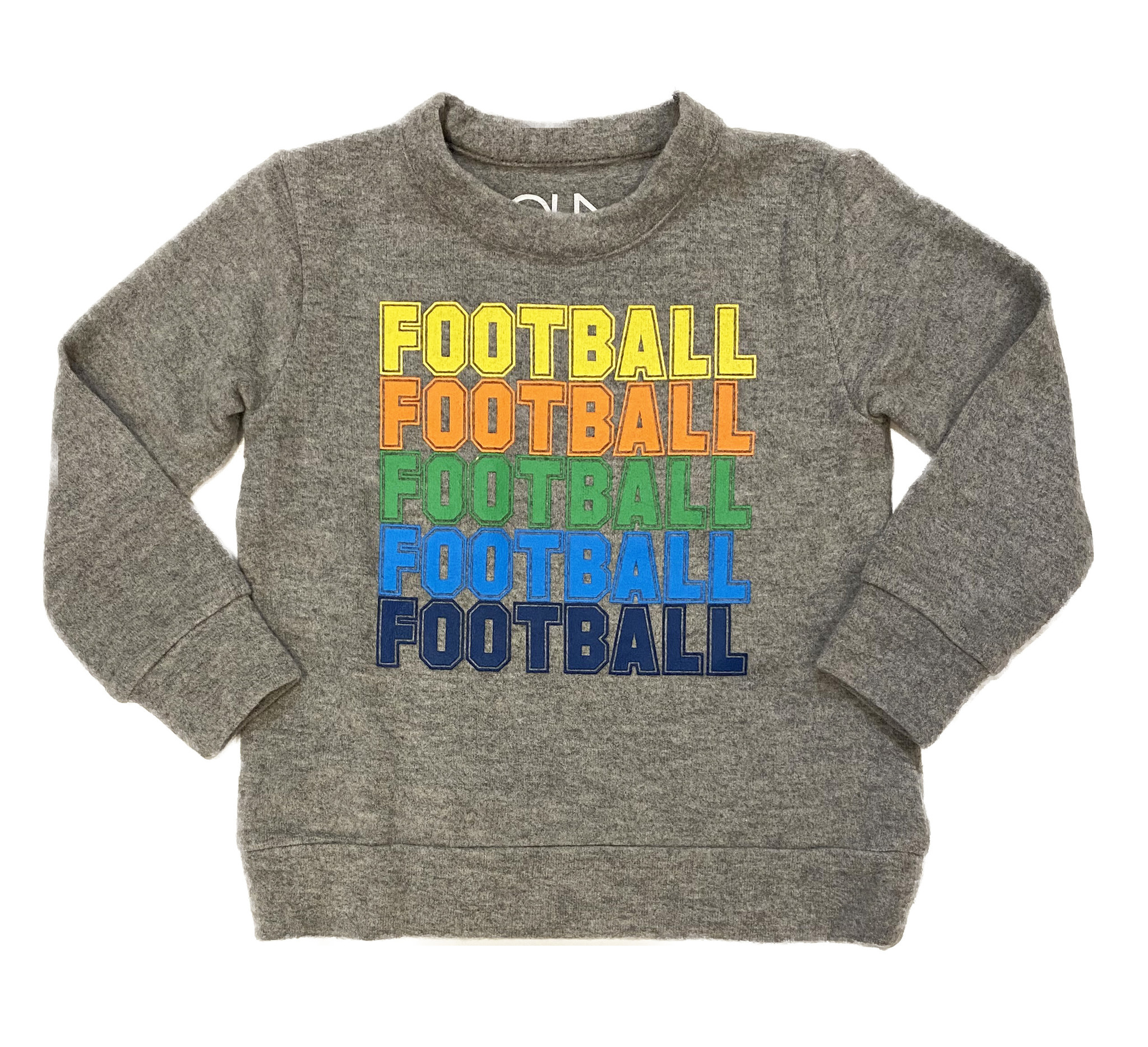 Chaser Heather Football Soft Pullover