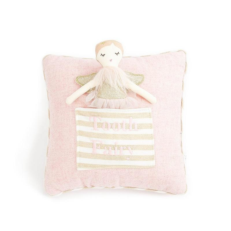 "Plush Doll 10""  Tooth Fairy Pillow"
