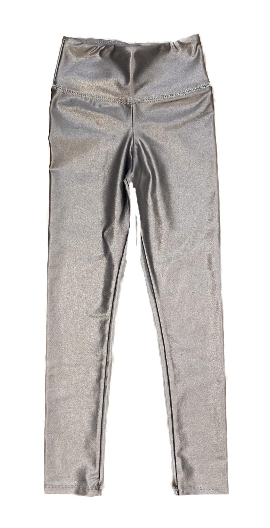 Katie J NYC Brit Wet Silver/Grey legging
