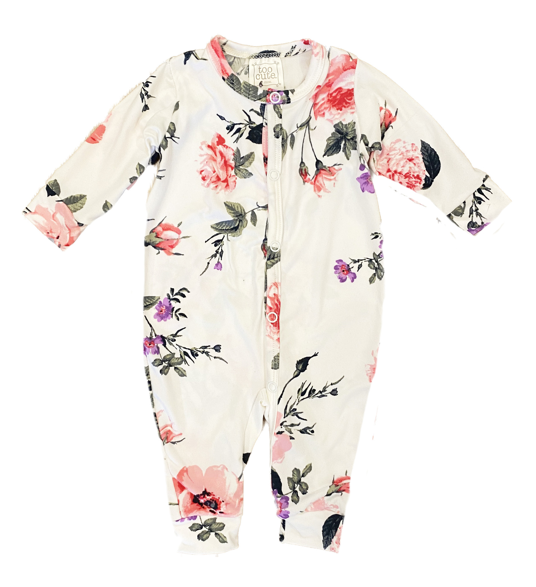 Too Cute Bouquet Floral Coverall