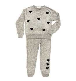 Z Supply Gray Hacci Star Jogger Set