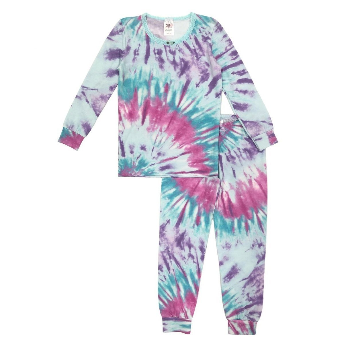 Esme Bright Tie Dye  L/S Set - Infant